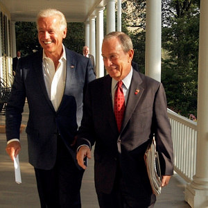 Joe Biden, Michael Bloomberg